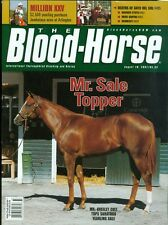 2007 The Blood-Horse Magazine #33: Mr. Greeley Colt Tops Saratoga Sale/Jambalaya