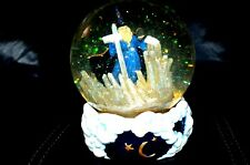Crystal Visions San Francisco Music Box 1996 Marjorie Sarnat Wizard snow globe