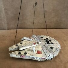 Vintage Star Wars paper Millennium Falcon fold and make hanging figure ship