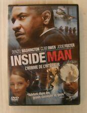 DVD INSIDE MAN - Denzel WASHINGTON / Jodie FOSTER - NEUF