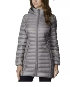 Macy's New York Brand New 32 Degrees Heat Womans  Removable Hood Puffer Coat Med