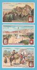 LIEBIG - SET OF 6 CARDS -  S 1004  /  F 1003  -  IN  PORTUGAL  -  1910