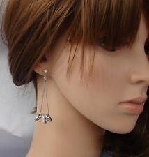 Top orecchini argento Strass,zircone,cristalli ,Da Donna,anelli