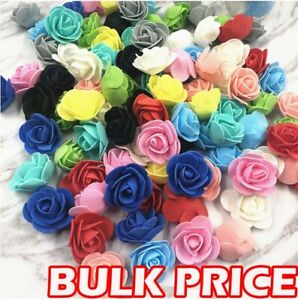 Foam Mini Roses Head Buds Small Flowers Wedding Home Party Decoration 500