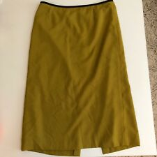 Preston & York Womens Olive Green Pencil Skirt  $78 Career 10 Suit