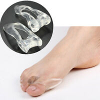 2 Gel Bunion Protector Toe Straightener Spreader Corrector Podiatrist