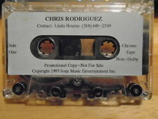 RARE PROMO Chris Rodriguez DEMO CASSETTE TAPE christian UNRELEASED 1993 Players