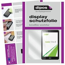 2x Acer Iconia One 8 B1-830 Schutzfolie klar Displayschutzfolie Folie dipos
