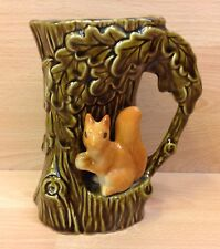 "SylvaC ""Fauna"" Squirrel Jug/Vase No.4241."