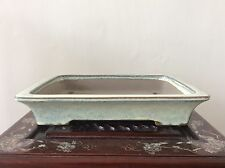 Japanese Vintage Bonsai Pot signed 立花  / W 33.7 × 26 × H 6.3[cm]  2360 g