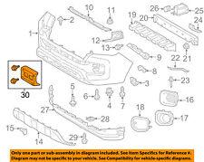 TOYOTA OEM 16-18 Tacoma-License Plate Bracket Mount Holder 7510104011