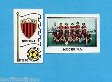 PANINI CALCIATORI 1979/80-Figurina n.529- NOCERINA -SCUDETTO+SQUADRA-Rec
