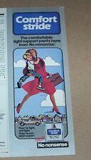 1985 print ad -No Nonsense Pantyhose SEXY legs mother family hosiery Advertising