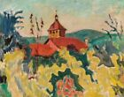 Pierre Bonnard The Red Roof Canvas Print 16 x 20   # 6337