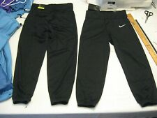NIKE Boys Vapor Pro Black, Slim Fit Baseball Pant,All sizes,Polystr, MSRP-$25.00