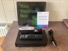 Talk Talk Youview Freeview Box Model DN372T 320GB HD RECORDER BOX In Vgc