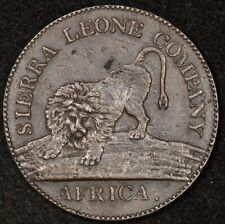 1791 SIERRA LEONE ONE CENT PIECE STRONG DETAILS