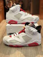 2020 Nike Air Jordan Retro 6 'Hare' Size 9 CT8529-062