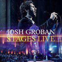 JOSH GROBAN - STAGES LIVE  CD + BLU-RAY NEW+