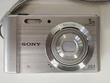 Sony Cyber-shot DSC-W800 20.1 MP Compact Digital Camera - Silver