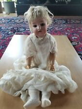 "1870-1925 Simon & Halbig 21"" German Bisque Doll from Collection with provenance"