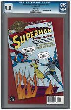 MILLENNIUM EDITION: SUPERMAN #76 CGC 9.8 (4/00) DC Comics Gold foil