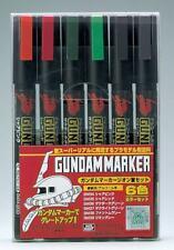 Gunze Sangyo Gundam Markers - Zeon Set