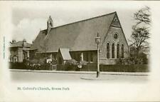 PRINTED POSTCARD OF ST. GABRIEL'S CHURCH, BOWES PARK, (LONDON), MIDDLESEX​