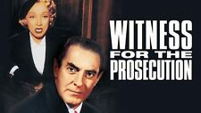 Witness for the Prosecution Dvd Dietrich, Laughton, Power Court Thriller!