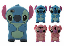 NOUVEAU Coque Case Cover silicone 3D Lilo & Stitch iPhone 4 5 S C 6S For SAMSUNG