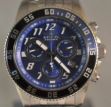 New Invicta 16535 Cruiseline LE Swiss Chrono Blue Dial Stainless Steel Watch