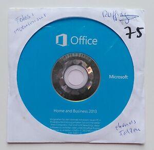 MS Office 2013 Home and Business OEM Vollversion DVD Datenträger Deutsch