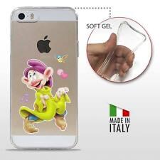 iPhone 5 5S SE TPU CASE COVER PROTETTIVA GEL TRASPARENTE Disney Cucciolo