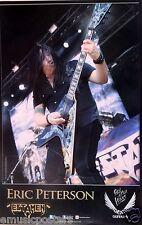 "TESTAMENT ""ERIC PETERSON PLAYING HIS GUITAR"" U.S. PROMO POSTER - Metal Music"