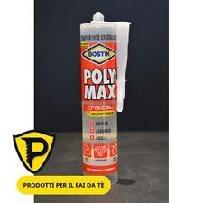 Bostik Poly Max Cristal Express cartuccia 300gr Sigillante Universale