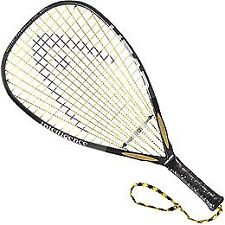 NEW HEAD i.165 Racquetball Racquet Strung 3 5 8 Inch Grip FREE SHIPPING
