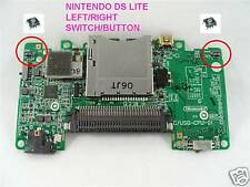 DS LITE L/R LEFT RIGHT SWITCH BUTTON L R  FAULTY REPAIR