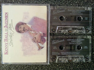 KENNY BALL and his JAZZMEN - STRICTLY JAZZ DOUBLE CASSETTE TAPE SET VGC