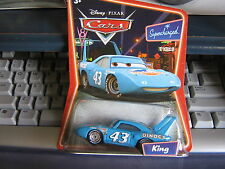 DISNEY PIXAR CARS KING SUPERCHARGED