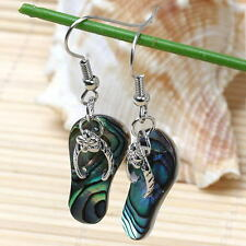 1 Pair Fashion Women Abalone Shell Earrings Dangle Hook Earrings Jewellery
