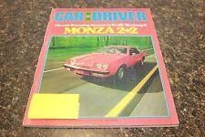 CAR AND DRIVER MONZA 2+2 SEPTEMBER 1974 VOL.20 #3 9248-1 [LOC.ELK] (BOX B) #234