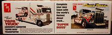 1974 Kenworth Tyrone Malone Papa Truck & Super Boss, 1:25, AMT 930 & 932