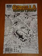 GODZILLA GANGSTERS AND GOLIATHS #4 RI COVER 2011 IDW ALBERTO PONTICELLI