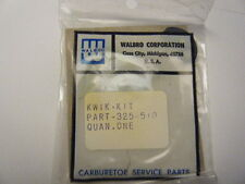 NEW WALBRO KWIK CARB KIT     PART NUMBER 325-510