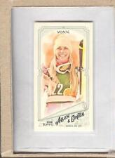 Lindsey Vonn 57 2018 Topps Allen & Ginter A and G Back Mini