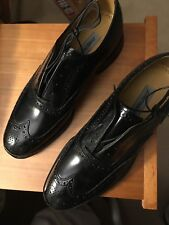 JOHNSON & MURPHEY GREENICH WING TIP SIZE 9C; BRAND NEW; NEVER WORN