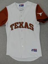 Texas Longhorns Replica Baseball Jersey (Youth Large) White