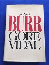 BURR - FIRST EDITION SIGNED BY GORE VIDAL