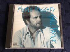 MERLE HAGGARD - Chill Factor (1987) RARE CD!! *MINT*