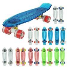 22 inch Skateboard Pennyboard Komplettboard Mini Crystal Cruiser Kinderboard,DE)